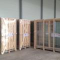Nosūtīts pirmais konteiners ar bīdāmām koka durvīm uz Japānu